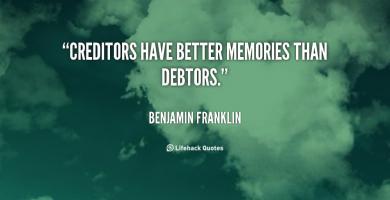Debtors quote #1