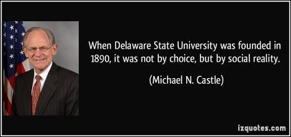 Delaware State University quote #2