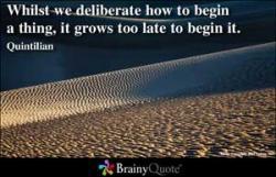 Deliberate quote #2