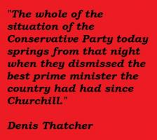 Denis Thatcher's quote #4