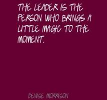 Denise Morrison's quote