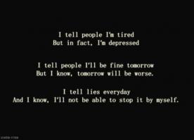 Depressive quote #1