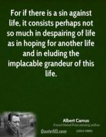 Despairing quote #1