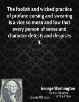 Despises quote