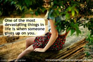 Devastating quote #2