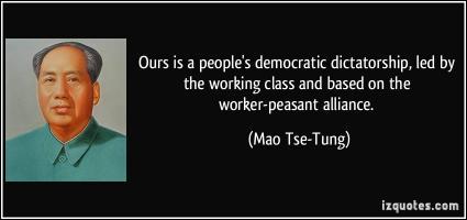 Dictatorship quote #2
