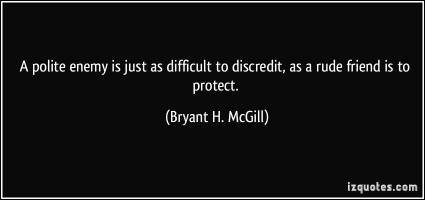 Discredit quote #1