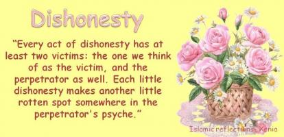Dishonesty quote #2