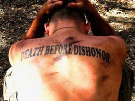 Dishonor quote #1