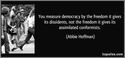 Dissidents quote #1