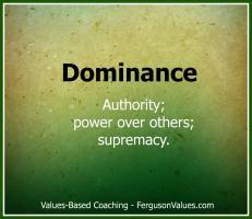 Dominance quote #1