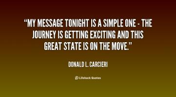 Donald L. Carcieri's quote