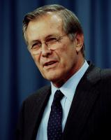 Donald Rumsfeld profile photo