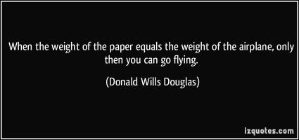 Donald Wills Douglas's quote #1