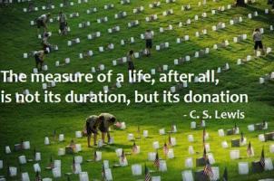 Donation quote #1