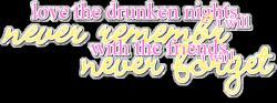 Drunken quote #1