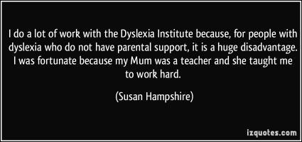 Dyslexia quote #1
