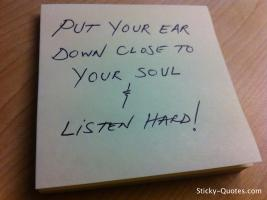 Ear quote
