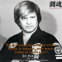 Ed Parker's quote #1
