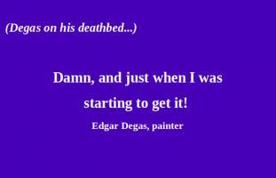 Edgar Degas's quote #5