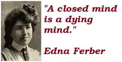 Edna Ferber's quote