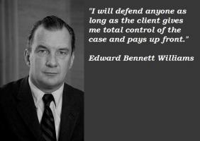 Edward Bennett Williams's quote
