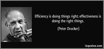 Efficiency quote #4