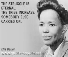 Ella Baker's quote #1