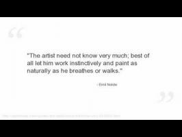 Emil Nolde's quote #2