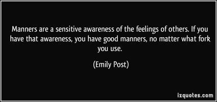Emily Post's quote #2