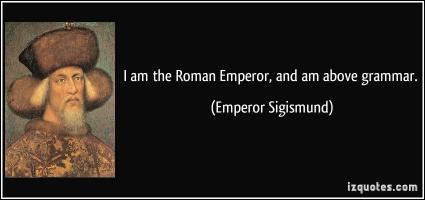 Emperor quote #5
