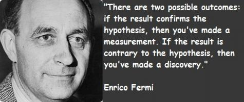 Enrico Fermi's quote #3