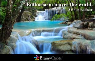 Enthusiasms quote #2