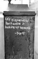 Ephemeral quote