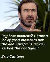 Eric Cantona's quote