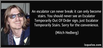 Escalator quote