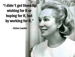 Estee Lauder's quote #1