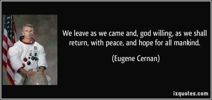 Eugene Cernan's quote #1