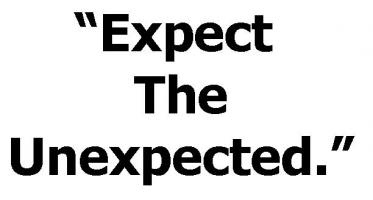 Expect The Unexpected quote #2