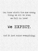 Expectation quote #2