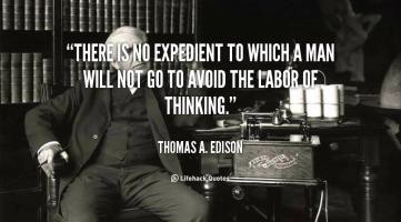 Expedient quote #1