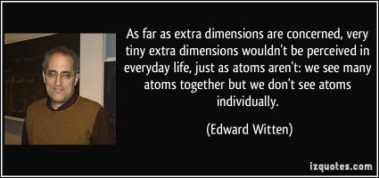 Extra Dimensions quote #2