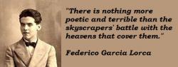Federico Garcia Lorca's quote