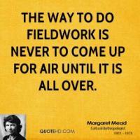 Fieldwork quote #1