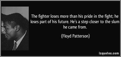 Floyd Patterson's quote #2