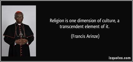 Francis Arinze's quote