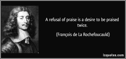 Francois de La Rochefoucauld's quote
