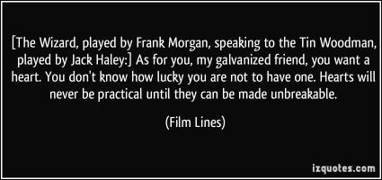 Frank Morgan's quote #2