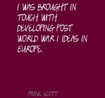 Frank Scott's quote #2