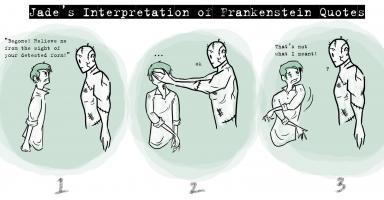 Frankenstein quote #2